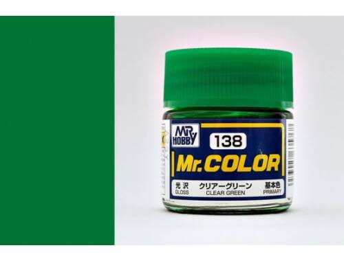 Mr.Hobby Mr.Color C-138 Clear Green