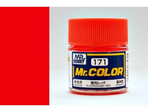 Mr.Hobby Mr.Color C-171 Fluorescent Red