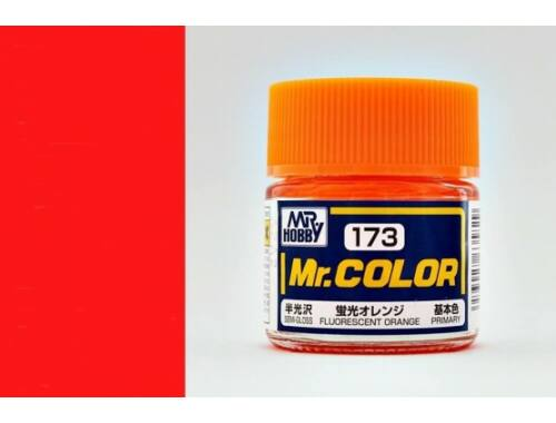 Mr.Hobby Mr.Color C-173 Fluorescent Orange