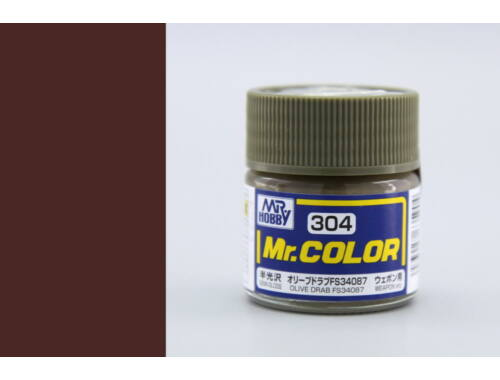 Mr.Hobby Mr.Color C-304 Olive Drab FS34087