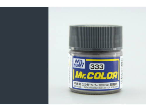 Mr.Hobby Mr.Color C-333 Extra Dark Seagray BS381C 640