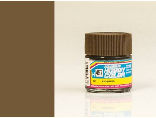 Mr.Hobby Aqueous Hobby Color H-457 Earth Brown