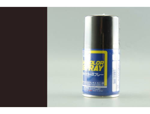Mr.Hobby Mr.Color Spray S-033 Flat Black