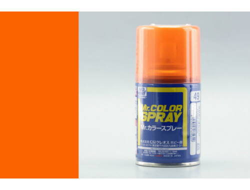 Mr.Hobby Mr.Color Spray S-049 Clear Orange