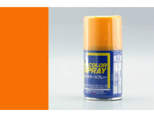Mr.Hobby Mr.Color Spray S-058 Orange Yellow