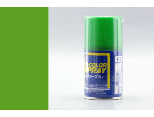 Mr.Hobby Mr.Color Spray S-064 Yellow Green