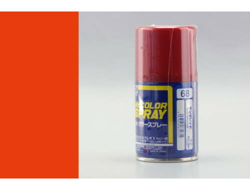 Mr.Hobby Mr.Color Spray S-068 Madder Red