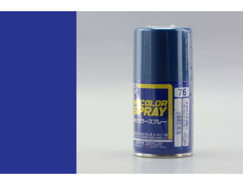 Mr.Hobby Mr.Color Spray S-076 Metallic Blue