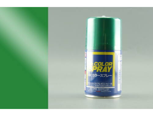 Mr.Hobby Mr.Color Spray S-077 Metallic Green