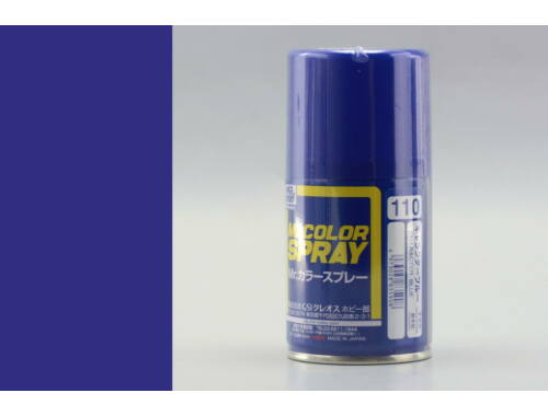 Mr.Hobby Mr.Color Spray S-110 Character Blue