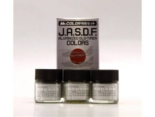 Mr.Hobby J.A.S.D.F. Aluminized Old-Timer Color Set CS-666