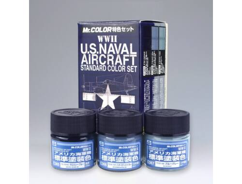 Mr.Hobby U.S. Naval Color Set Aircraft (WW II) CS-682