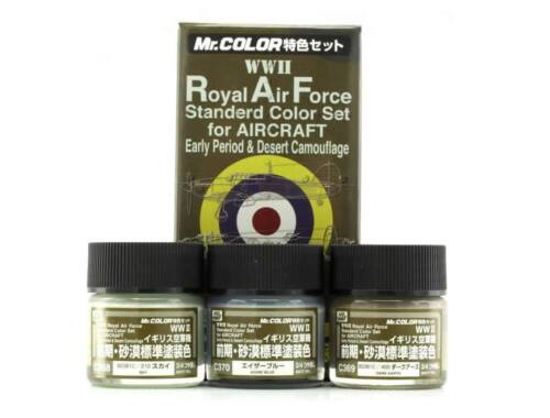 Mr.Hobby Royal Air Force Color Set (WW II) Early CS-683