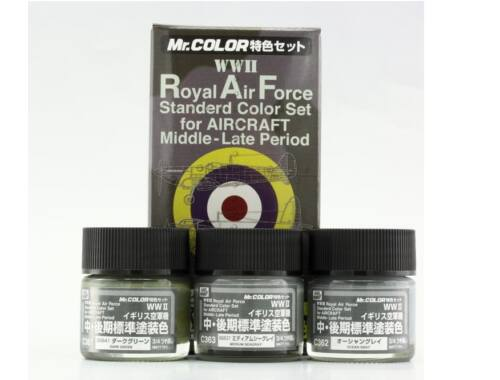 Mr.Hobby Royal Air Force Color Set (WW II) Middle/Late CS-684