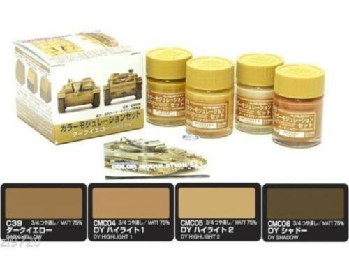 Mr.Hobby Color Modulation Set Dark Yellow Ver. CS-582