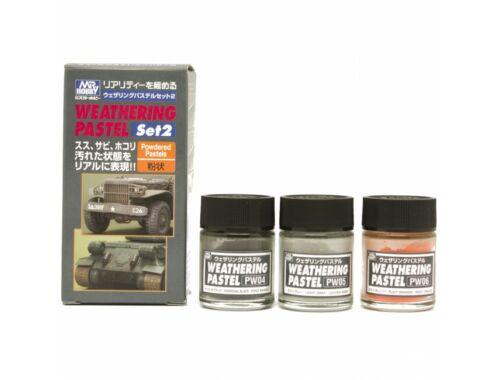 Mr.Hobby Weathering Pastel Set 2 PP-102