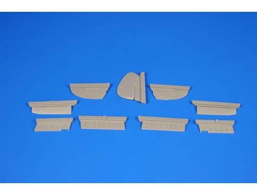 CMK Blenheim Mk.I - Control Surfaces for Airfix 1:72 (7337)