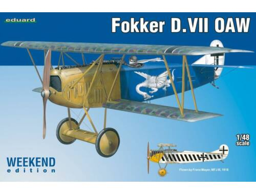 Eduard Fokker D.VII OAW WEEKEND edition 1:48 (84155)