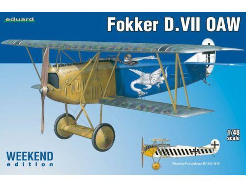 Eduard Fokker D.VII OAW WEEKEND edition 1:48 (84155)