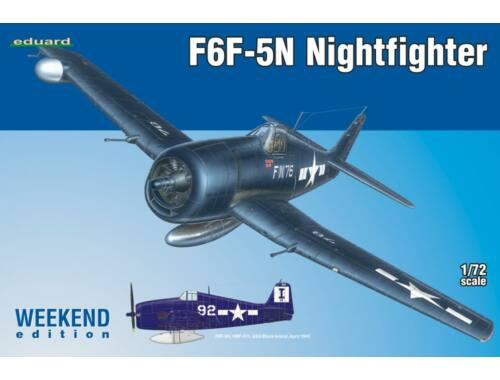 Eduard F6F-5N Nightfighter WEEKEND edition 1:72 (7434)