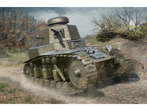 Hobby Boss Soviet T-18 Light Tank MOD1927 1:35 (83873)