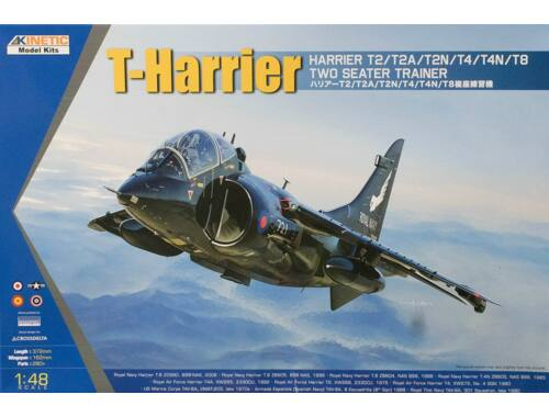 Kinetic T-Harrier T2/T4/T8 1:48 (48040)
