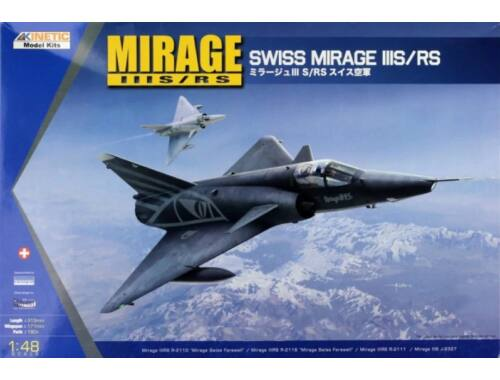 Kinetic Mirage IIIS/RS 1:48 (48058)