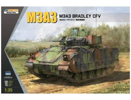 Kinetic M3A3 Bradley CFV 1:35 (61014)