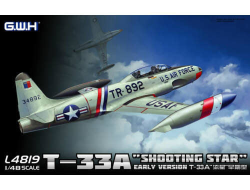 Lion Roar T-33A Early Version 1:48 (L4819)