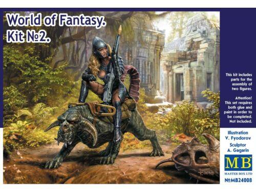Master Box World of Fantasy. Kit No.2 1:24 (24008)
