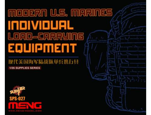 Meng Modern U.S.Marines Individual Load-Carry Carrying Equipment (Resin) 1:35 (SPS-027)