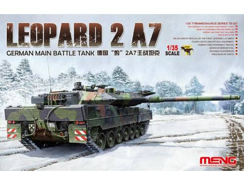 Meng German Main Battle Tank Leopard 2 A7 1:35 (TS-027)