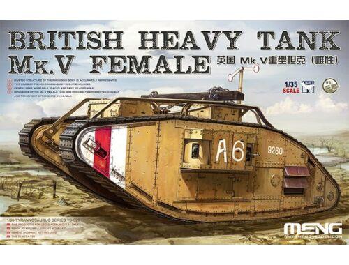 Meng British Heavy Tank Mk.V Female 1:35 (TS-029)