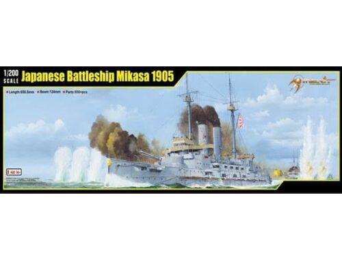 Merit Japanese Battleship Mikasa 1905 1:200 (62004)