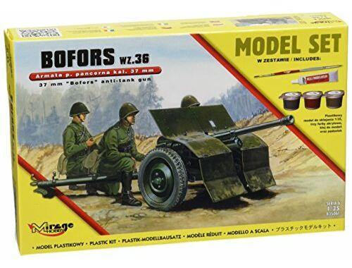 Mirage Hobby 37mm BOFORS wz 36 anti tank gun(ModelSet 1:35 (835061)