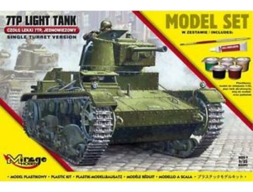 "Mirage Hobby 7TP Light Tank ""Single Turret""(Model Set 1:35 (835092)"