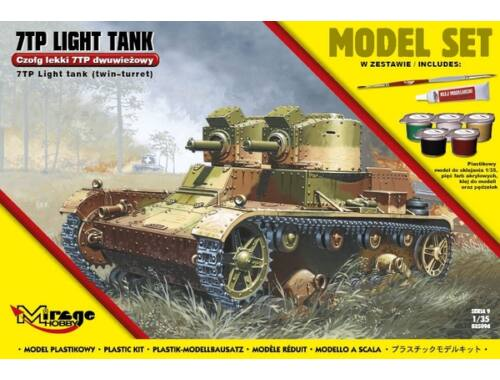 "Mirage Hobby 7TP Light Tank ""Twin Turret""(Model Set) 1:35 (835094)"