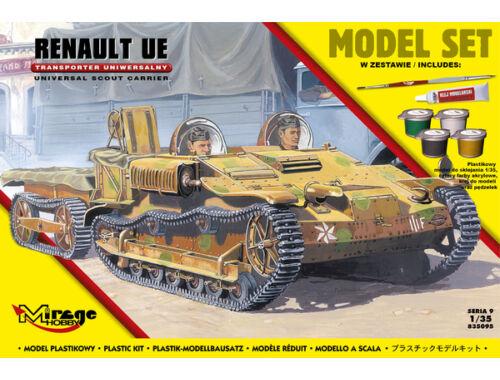Mirage Hobby Renault UE reconnaissance tankette(Model Model Set 1:35 (835095)