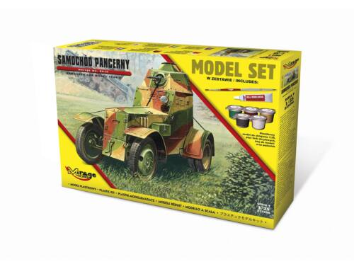 Mirage Hobby Armoured Car Model 1943/II (Model Set) 1:35 (835096)