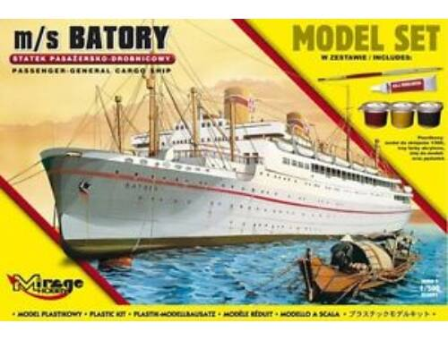 Mirage Hobby m/s BATORY(Trans-Atlantic Passenger-Gene General Cargo Ship)(Model Set) 1:500 (850091)