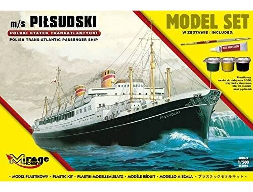 Mirage Hobby m/s PILSUDSKI(Trans-Atlantic Passenger S Ship)(Model Set) 1:500 (850092)