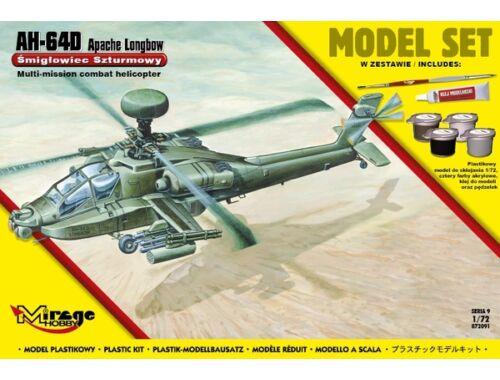 Mirage Hobby AH-64D APACHE Longbow (Model Set) 1:72 (872091)