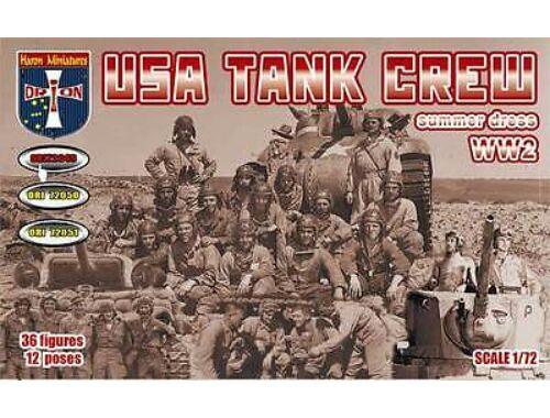 Orion WWII U.S.tank crew,summer dress 1:72 (72049)