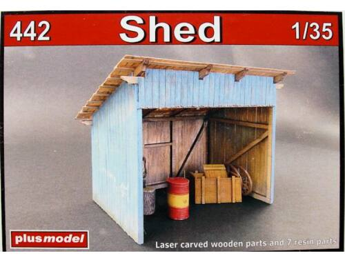 Plus Model Shed 1:35 (442)