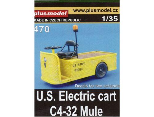 Plus Model U.S.Electric cart C4-32 Mule 1:35 (470)