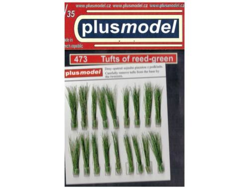 Plus Model Tufts of reeds-green 1:35 (473)