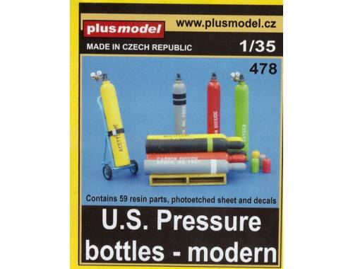 Plus Model U.S.Pressure bottles-modern 1:35 (478)