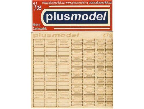 Plus Model U.S.Wooden crates f.cigaretes WWII-TypeI 1:35 (479)