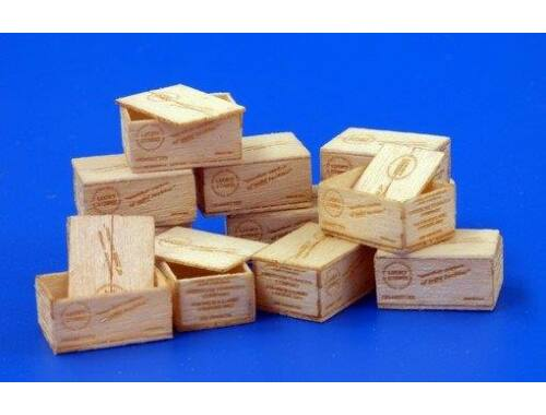 Plus Model U.S.Wooden crates f.cigaretes WWII-typII 1:35 (480)