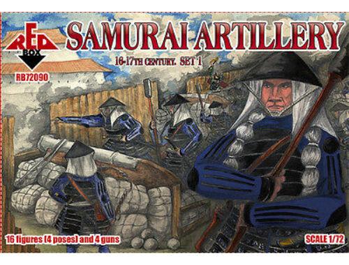 Red Box Samurai artillery, 16-17th century,set 1 1:72 (72090)